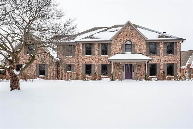 3891 Atherton Lane, Greenwood, IN 46143 (MLS #21767418) :: The Indy Property Source
