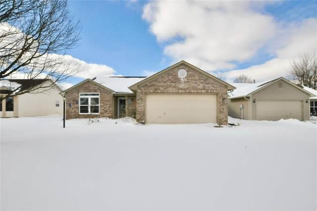 3710 N Bearwood Drive, Indianapolis, IN 46235 (MLS #21767435) :: The Evelo Team