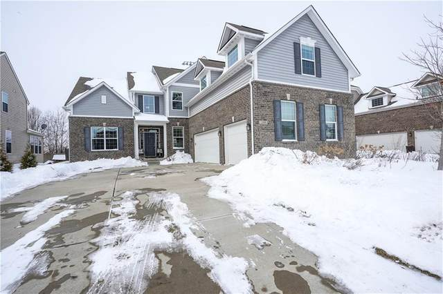 12434 Wolverton Way, Fishers, IN 46037 (MLS #21767478) :: Mike Price Realty Team - RE/MAX Centerstone