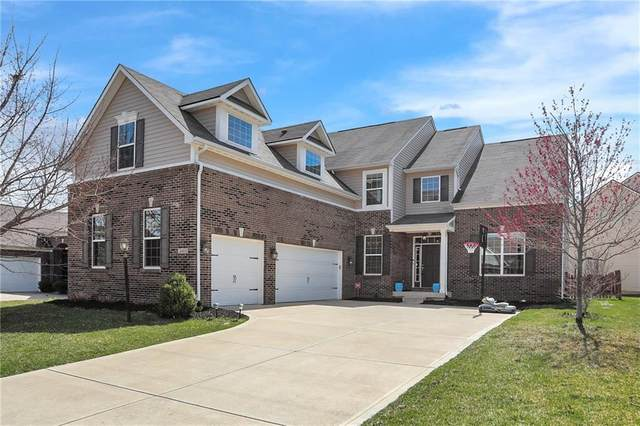 14493 Lydden Drive, Fishers, IN 46037 (MLS #21767592) :: Mike Price Realty Team - RE/MAX Centerstone