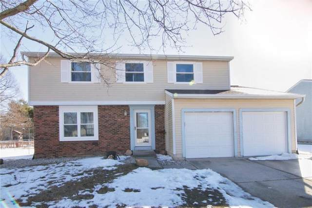 605 E Brentwood Drive, Plainfield, IN 46168 (MLS #21767599) :: The Indy Property Source