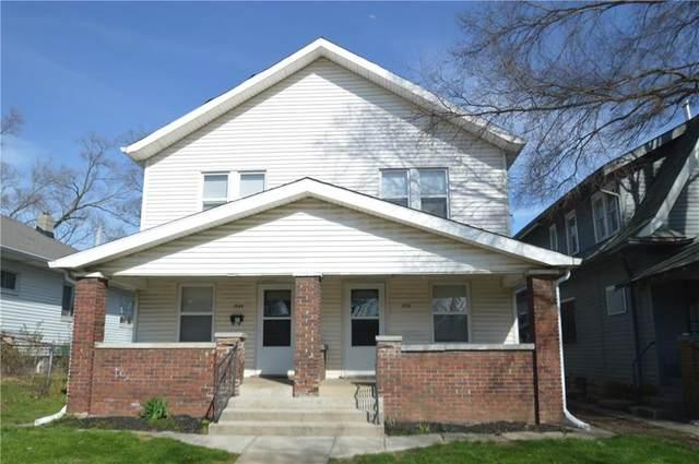 1549-1551 Villa Avenue, Indianapolis, IN 46203 (MLS #21767805) :: Dean Wagner Realtors