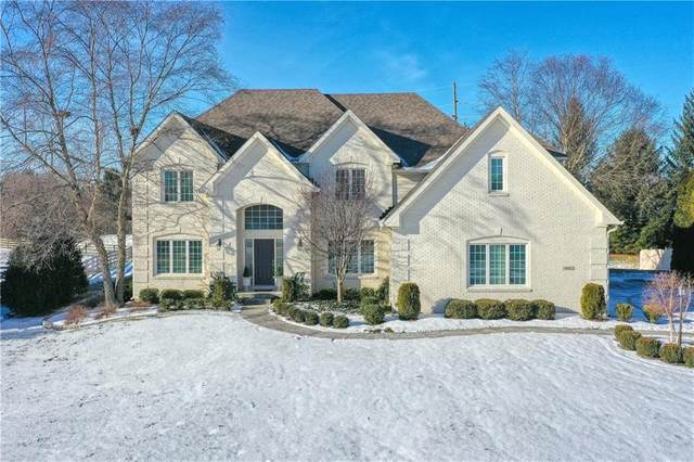 4828 Skipping Rock Court, Carmel, IN 46033 (MLS #21767864) :: The Indy Property Source