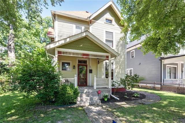 1411 N New Jersey Street, Indianapolis, IN 46202 (MLS #21767868) :: Dean Wagner Realtors