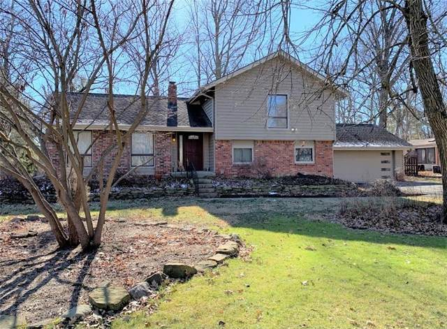 1443 Brewster Road, Indianapolis, IN 46260 (MLS #21767895) :: Dean Wagner Realtors