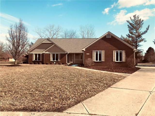4122 Cobblestone Way, Greenwood, IN 46143 (MLS #21767942) :: The Indy Property Source