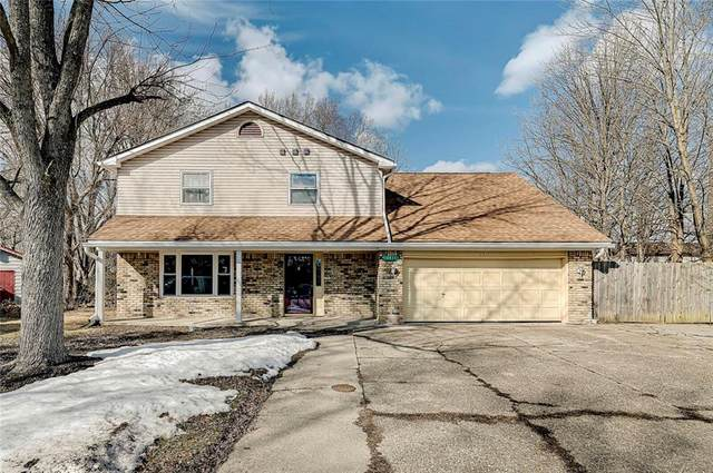 2817 Astro Drive, Indianapolis, IN 46229 (MLS #21767950) :: The ORR Home Selling Team