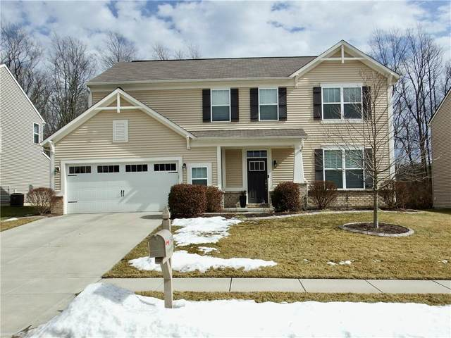 1547 Windswept Drive, Greenwood, IN 46143 (MLS #21767999) :: The Indy Property Source