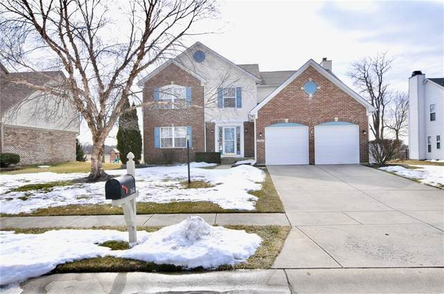 7645 Samuel Drive, Indianapolis, IN 46259 (MLS #21768004) :: The ORR Home Selling Team