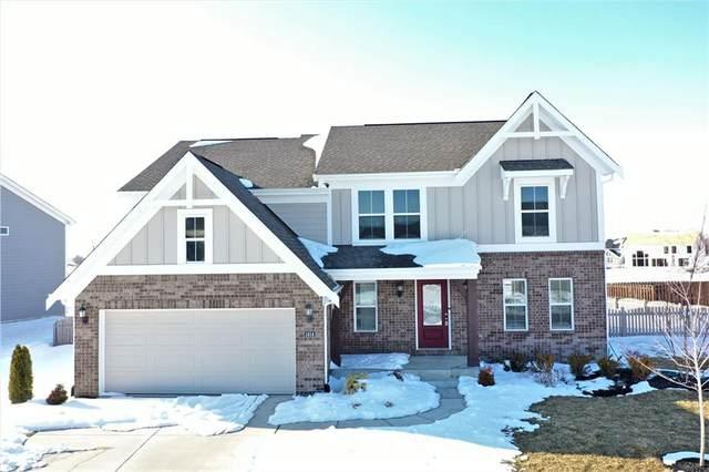 1414 W Springhurst Boulevard, Greenfield, IN 46140 (MLS #21768273) :: Heard Real Estate Team | eXp Realty, LLC