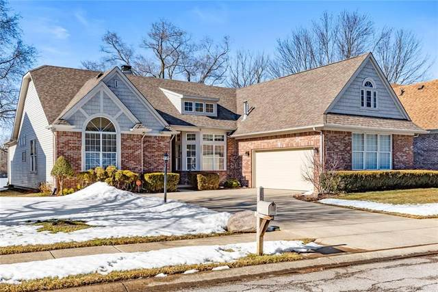 4834 Mallard View Drive, Indianapolis, IN 46226 (MLS #21768283) :: The ORR Home Selling Team
