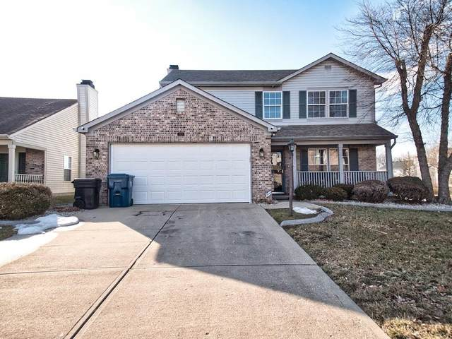 3920 Knapsbury Lane, Indianapolis, IN 46235 (MLS #21768361) :: The Indy Property Source