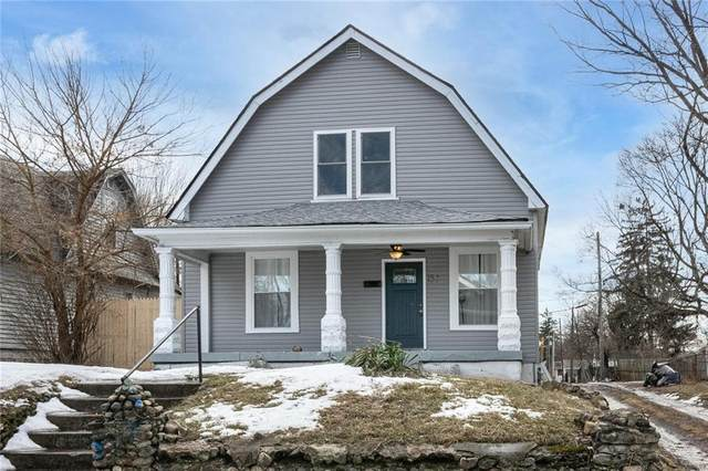 1529 W 26th Street, Indianapolis, IN 46208 (MLS #21768370) :: The ORR Home Selling Team