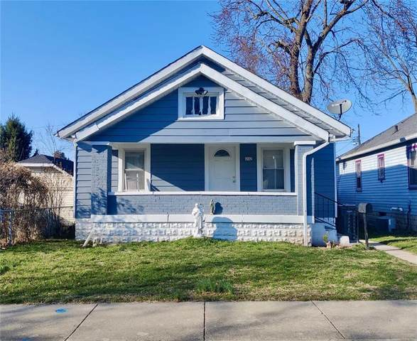 1232 E Perry Street, Indianapolis, IN 46227 (MLS #21768394) :: RE/MAX Legacy