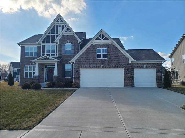 2374 Angelina Way, Greenwood, IN 46143 (MLS #21768448) :: The Indy Property Source