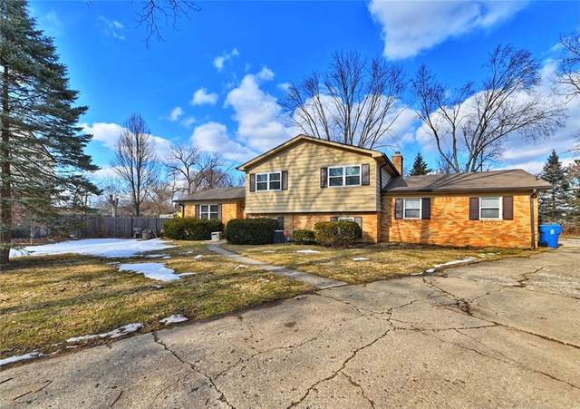 8724 E Oriental Court, Indianapolis, IN 46219 (MLS #21768456) :: The ORR Home Selling Team