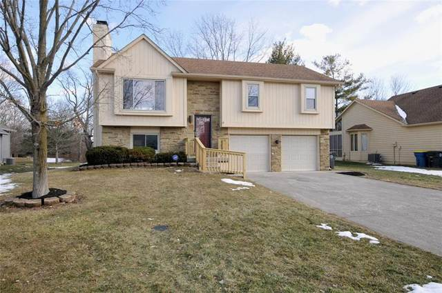 7615 Old Oakland Bl E Drive, Lawrence, IN 46236 (MLS #21768484) :: The Indy Property Source