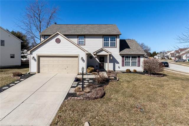 10090 Touchstone Drive, Fishers, IN 46038 (MLS #21768496) :: The Evelo Team