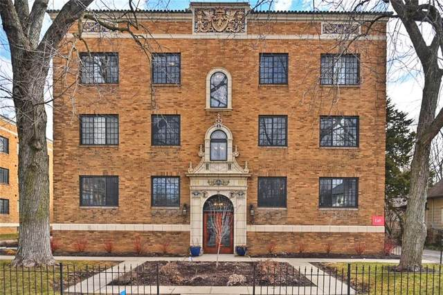 5347 N College Avenue #201, Indianapolis, IN 46220 (MLS #21768510) :: Anthony Robinson & AMR Real Estate Group LLC