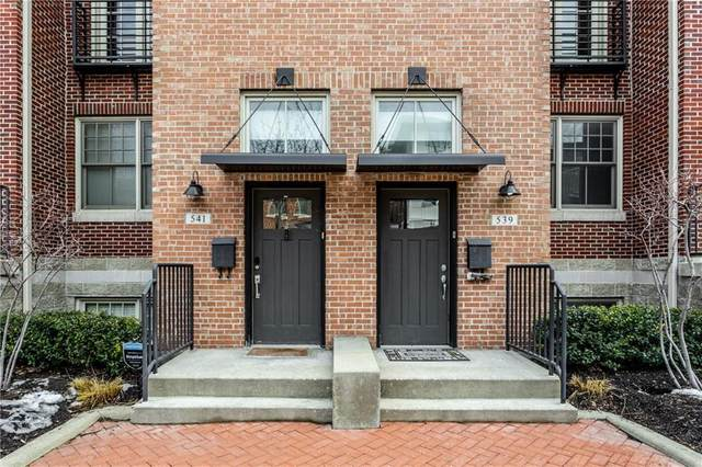 541 N Park Avenue #541, Indianapolis, IN 46202 (MLS #21768520) :: AR/haus Group Realty