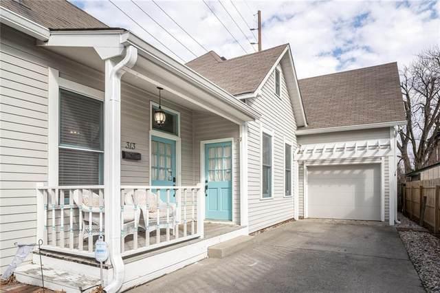 313 S Cincinnati Street, Indianapolis, IN 46202 (MLS #21768561) :: Heard Real Estate Team | eXp Realty, LLC