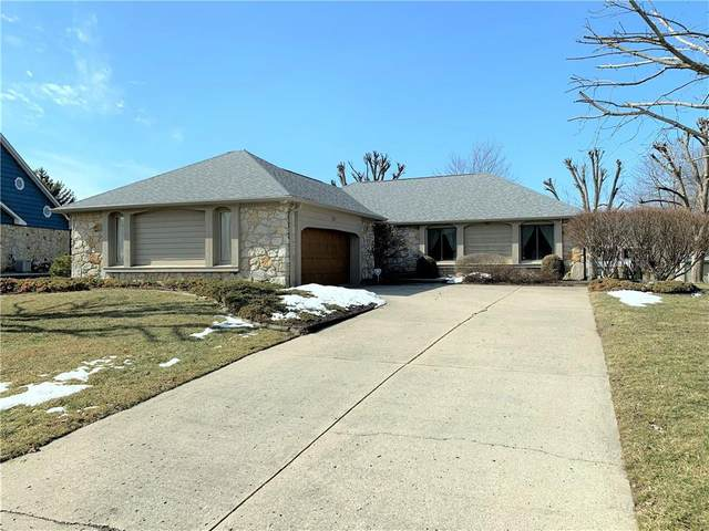 662 Winding Trail, Greenwood, IN 46142 (MLS #21768580) :: The Indy Property Source