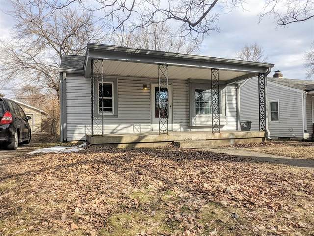 2815 S Delaware Street, Indianapolis, IN 46225 (MLS #21768605) :: Richwine Elite Group