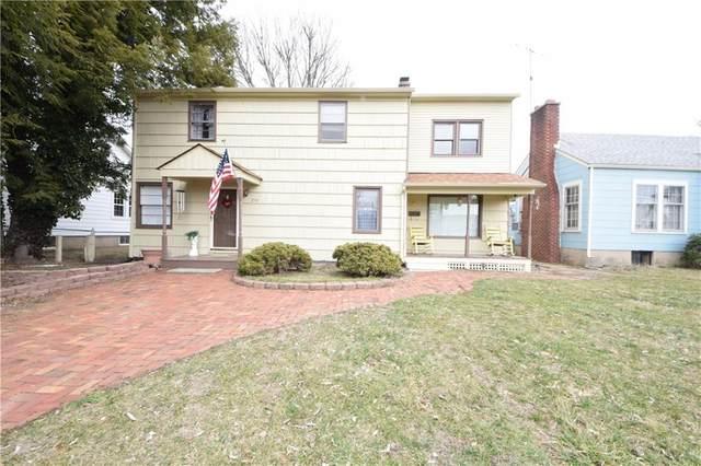 216 Lee Boulevard, Seymour, IN 47274 (MLS #21768680) :: The ORR Home Selling Team