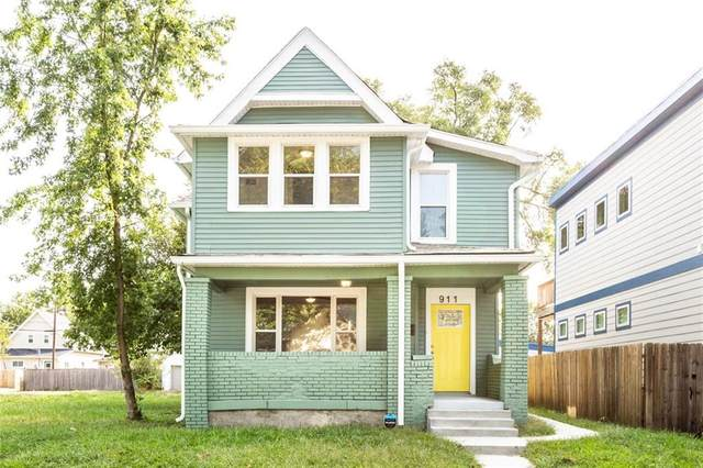 911 S Randolph Street, Indianapolis, IN 46203 (MLS #21768743) :: The Indy Property Source