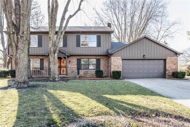 1829 Box Elder Court, Indianapolis, IN 46260 (MLS #21768802) :: Dean Wagner Realtors