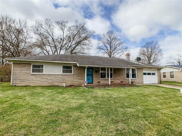 7301 E 49th Street, Indianapolis, IN 46226 (MLS #21769080) :: Dean Wagner Realtors
