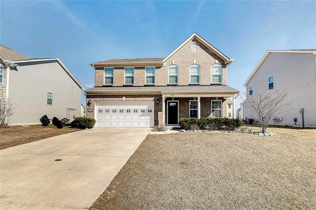 6671 School Branch Drive, Brownsburg, IN 46122 (MLS #21769141) :: Dean Wagner Realtors