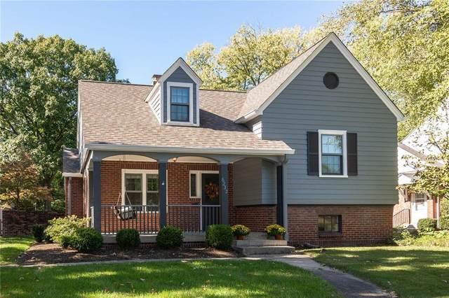 6232 N Washington Boulevard, Indianapolis, IN 46220 (MLS #21769164) :: Anthony Robinson & AMR Real Estate Group LLC
