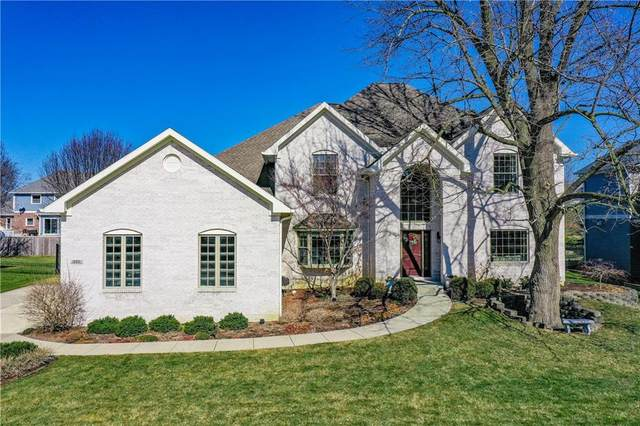 10031 Sugarleaf Place, Fishers, IN 46038 (MLS #21769265) :: The Evelo Team