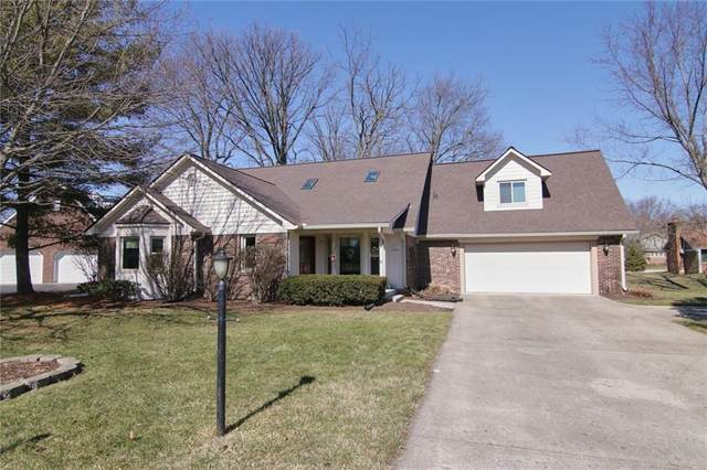 13615 Thistlewood Drive W, Carmel, IN 46032 (MLS #21769369) :: The Indy Property Source