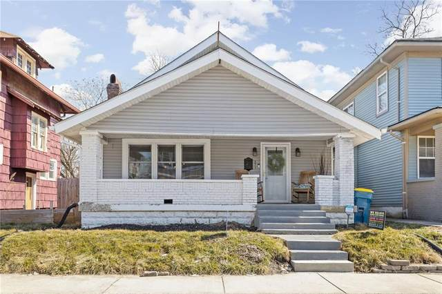271 Hendricks Place, Indianapolis, IN 46201 (MLS #21769372) :: The Indy Property Source