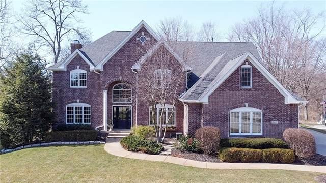 10607 Geist Ridge Court, Fishers, IN 46040 (MLS #21769491) :: Ferris Property Group
