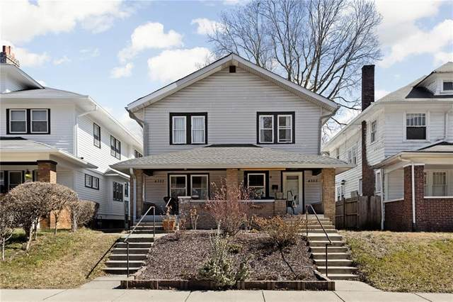 4355 Carrollton Avenue, Indianapolis, IN 46205 (MLS #21769542) :: Anthony Robinson & AMR Real Estate Group LLC