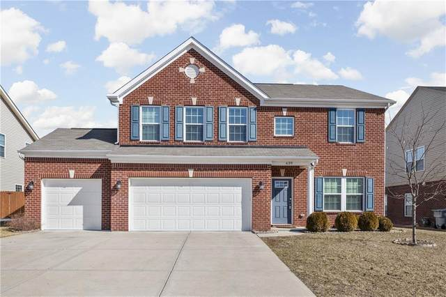 639 Timeless Run, Greenwood, IN 46143 (MLS #21769617) :: Richwine Elite Group
