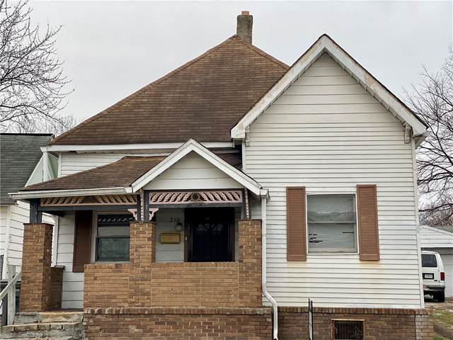 210 N Richland Street, Indianapolis, IN 46222 (MLS #21769641) :: Mike Price Realty Team - RE/MAX Centerstone