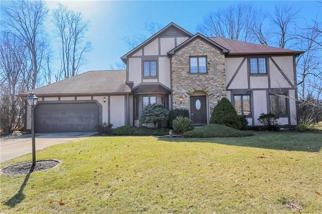 1015 Lakewood South Drive, Brownsburg, IN 46112 (MLS #21769665) :: Dean Wagner Realtors