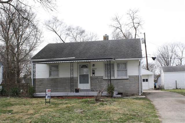 2250 N Centennial Street, Indianapolis, IN 46222 (MLS #21769734) :: The Indy Property Source