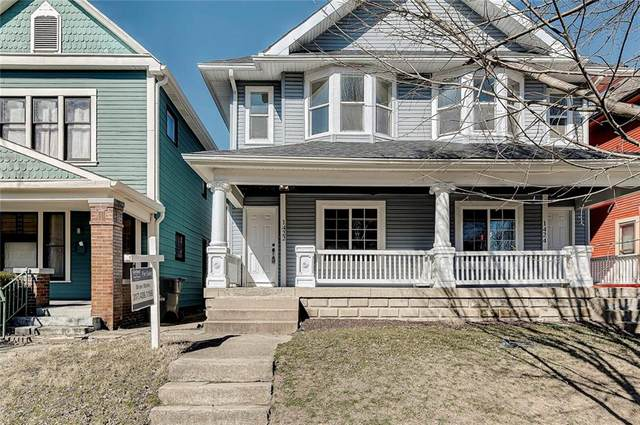 1422 E Ohio Street, Indianapolis, IN 46201 (MLS #21769787) :: The Indy Property Source