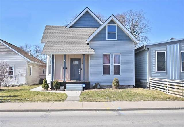 1218 S State Avenue, Indianapolis, IN 46203 (MLS #21769794) :: Heard Real Estate Team | eXp Realty, LLC