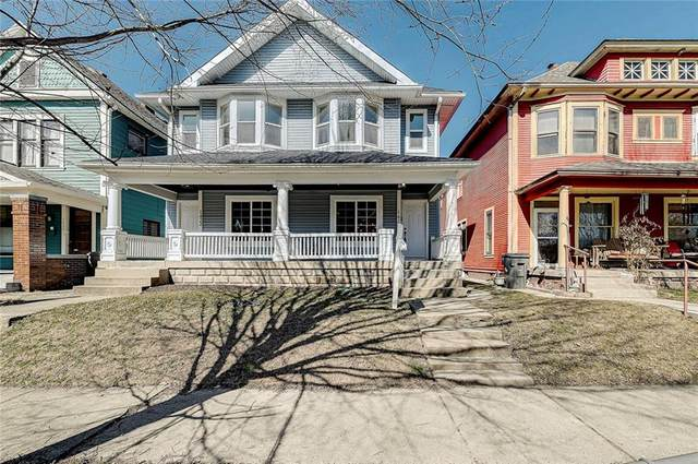 1424 E Ohio Street, Indianapolis, IN 46201 (MLS #21769804) :: The Indy Property Source