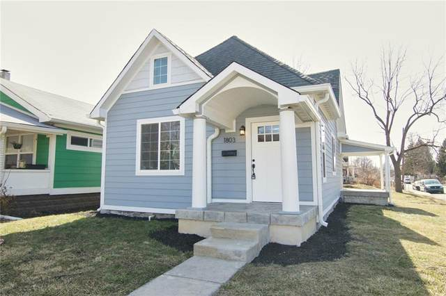 1803 Woodlawn Avenue, Indianapolis, IN 46203 (MLS #21769838) :: Dean Wagner Realtors