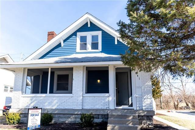 841 N Gladstone Avenue, Indianapolis, IN 46201 (MLS #21769912) :: The Indy Property Source