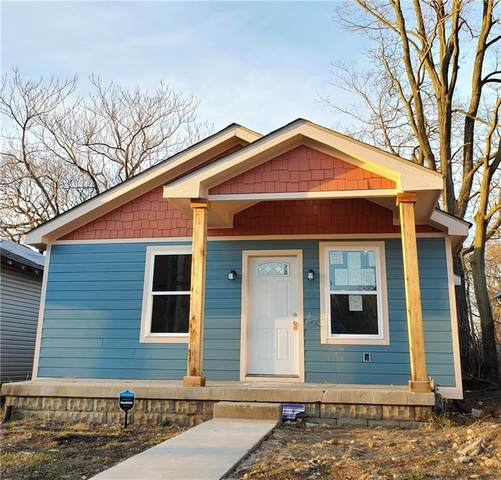 1224 W 21ST Street, Indianapolis, IN 46202 (MLS #21770032) :: The Indy Property Source