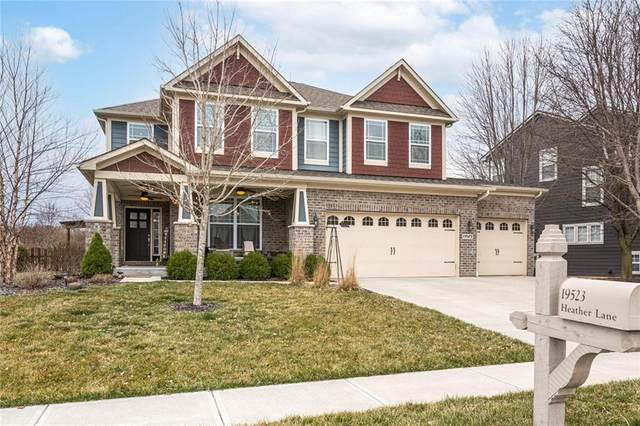 19523 Heather Lane, Noblesville, IN 46060 (MLS #21770062) :: Mike Price Realty Team - RE/MAX Centerstone