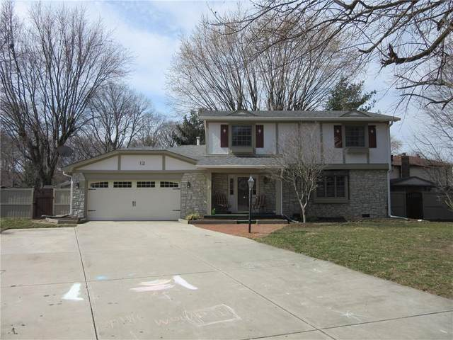 12 Nevermind Court, Greenwood, IN 46142 (MLS #21770443) :: Heard Real Estate Team | eXp Realty, LLC